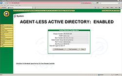 Agentless Active Directory Integration
