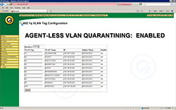 Agentless VLAN Control